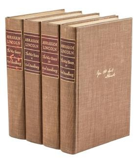 Abraham Lincoln The War Years signed limited edition