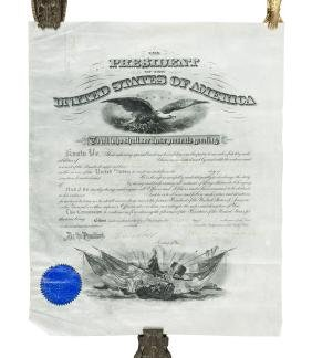 Appointment signed by Theodore Roosevelt