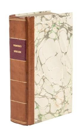 Bound volume of Daniel Webster and others