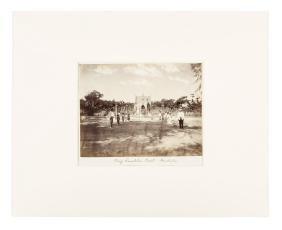 king lunalilo's Tomb - albumen photograph