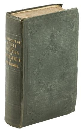 Backhouse in Maurituis & South Africa 1844