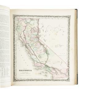 Colton Cabinet Atlas 1859