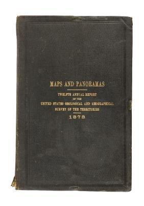 Maps and Panoramas 1878 U.S.G.&G. Survey