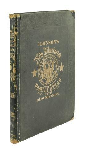 Johnson's Family Atlas 1864