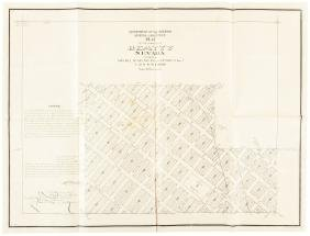 Plat map of Beatty Nevada 1908