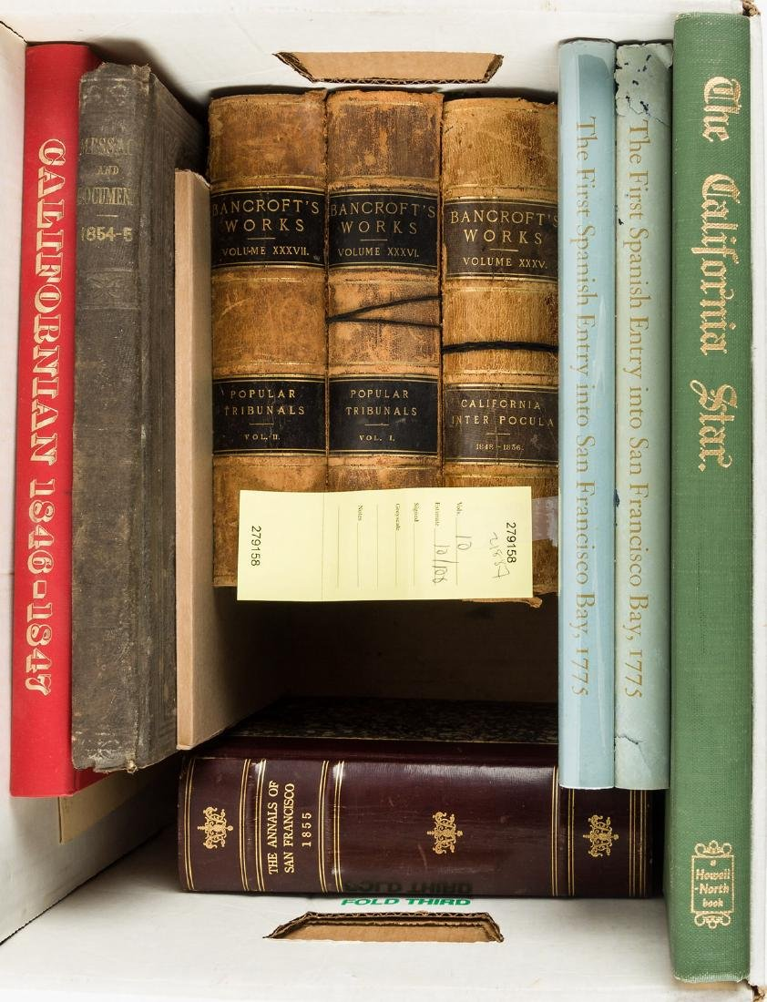 Ten volumes of Western Americana