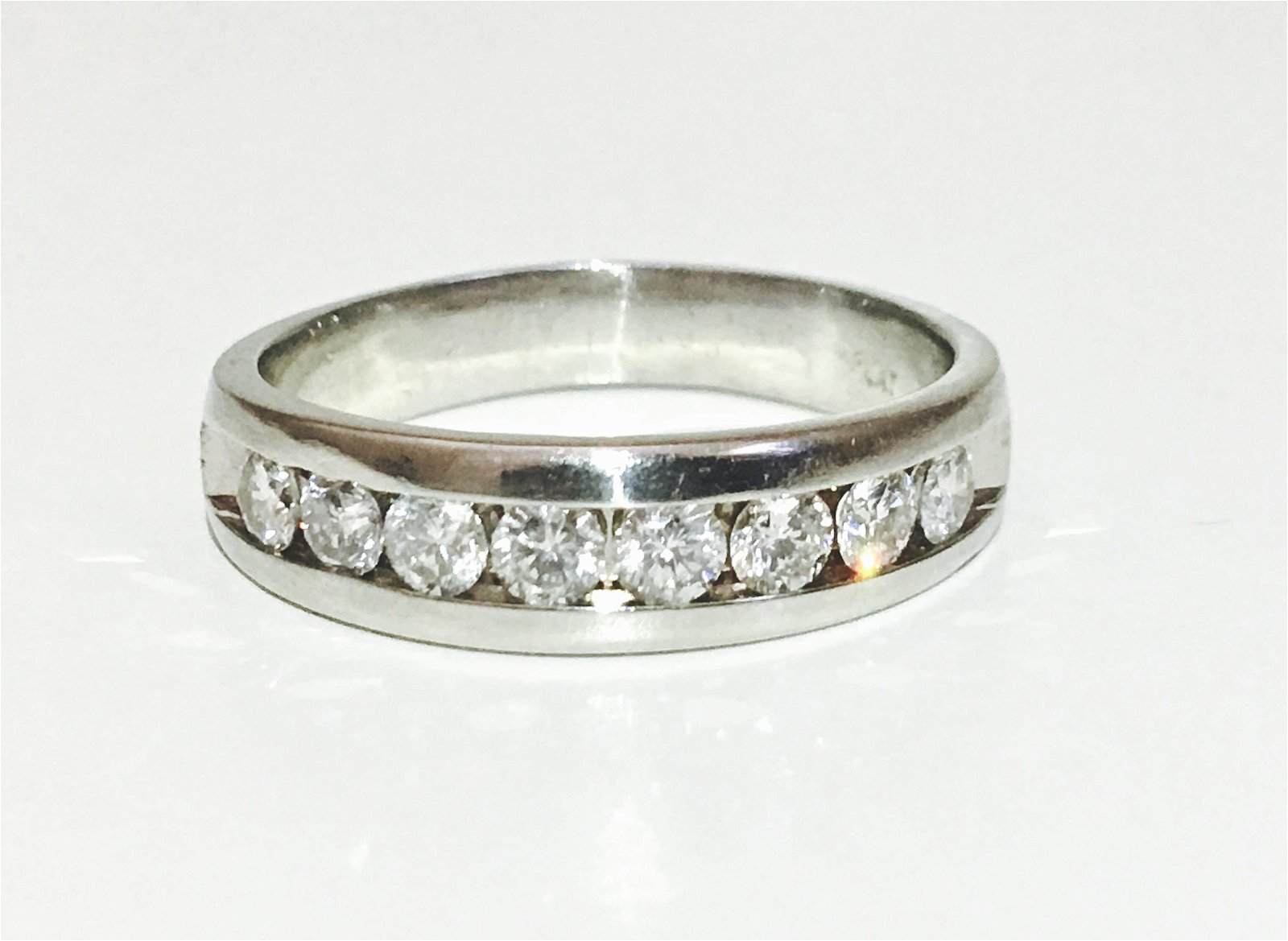 Platinum & 1.25 CT Diamond Wedding/Engagement Band
