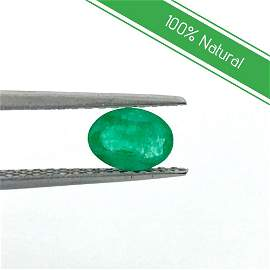100% Natural Loose Emerald, AAA 0.75 Carat Emerald