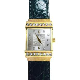Concord Crystale Ladies Watch, 18k Gold &VVS Diamonds