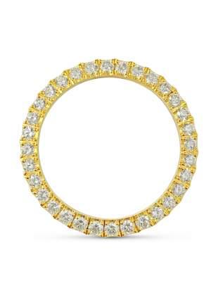 3.90 Carat VVS Diamond Bezel. 36mm Watch Rolex Bezel