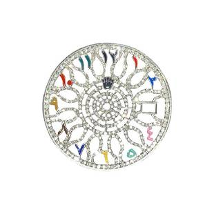 Rolex 41mm Datejust Diamond Dial Skeleton Arabic Marker