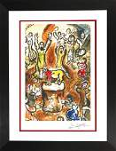 MARC CHAGALL-The Story of the Exodus 2-Lithograph