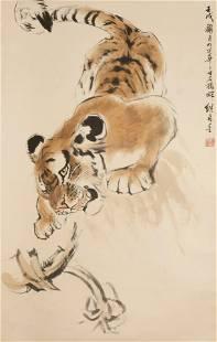 Liu Jimu, Chinese modern animal painting