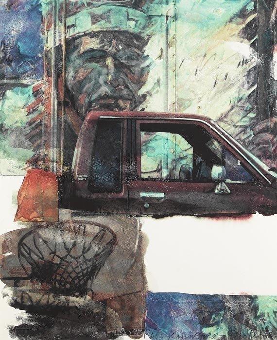 ROBERT RAUSCHENBERG, Untitled (American Indian), 2000