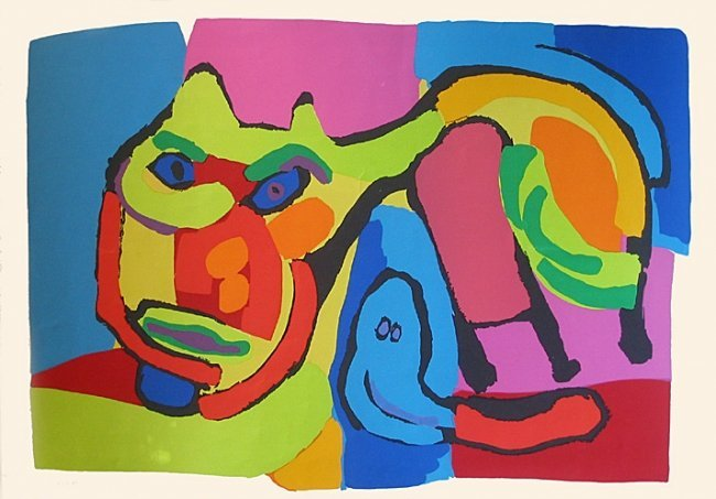 "KAREL APPEL, ""The Cat"""