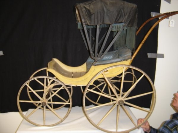 4: Painted Childs carriage