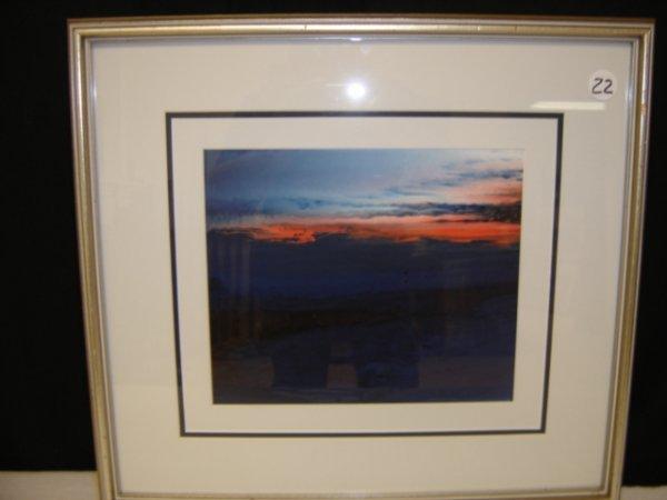 22: Acrylic on board by Nell La Marsh.