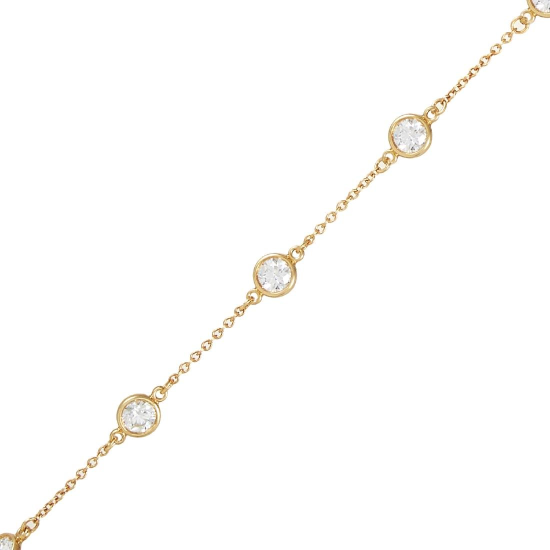 A 1.26 CARAT DIAMOND BRACELET, ELSA PERETTI FOR TIFFANY - 2