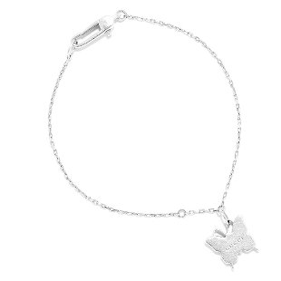 10e7e06e2 ... the BUTTERFLY CHARM BRACELET, GUCCI in sterling silver, the