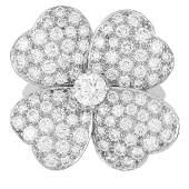 COSMOS DIAMOND RING, VAN CLEEF AND ARPELS in