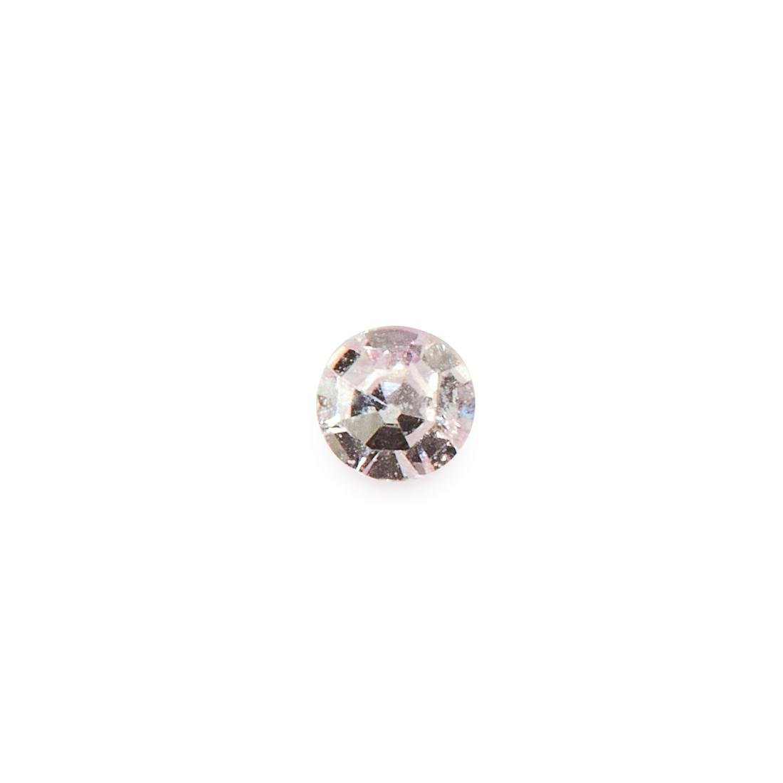 AN UNMOUNTED PINK DIAMOND round brilliant cut, of 0.04