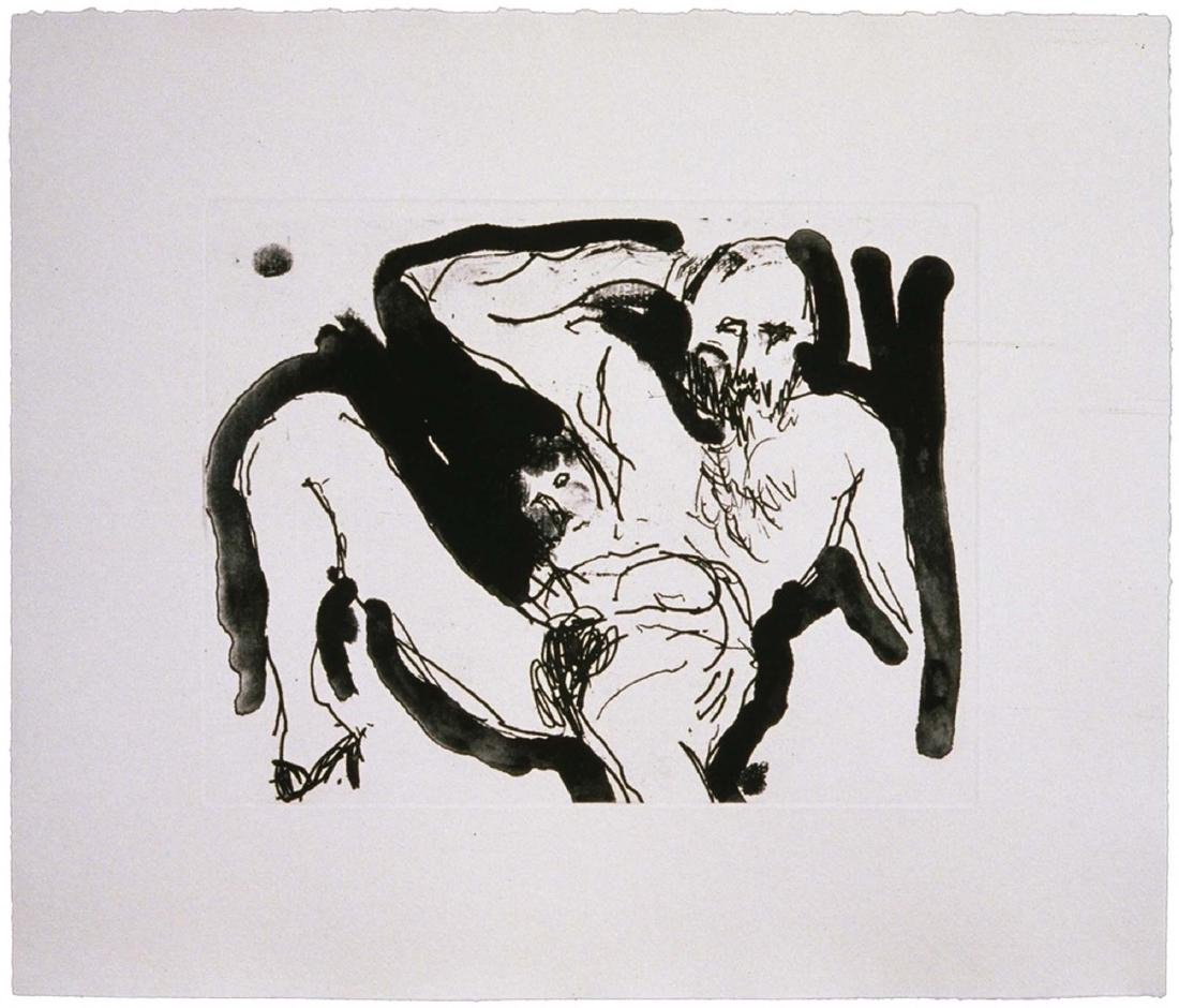 Malcolm Morley, Born of Adam