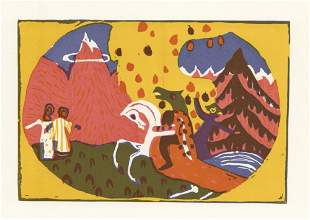 Wassily Kandinsky Berge