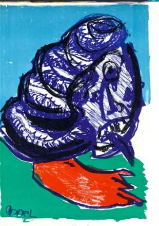 Karel Appel Untitled