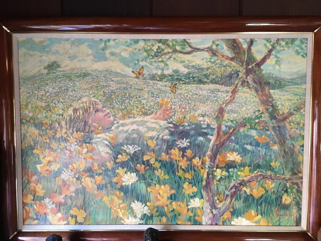 ORIGINAL PAINTING SIGNED BY CORINNE HARTLEY