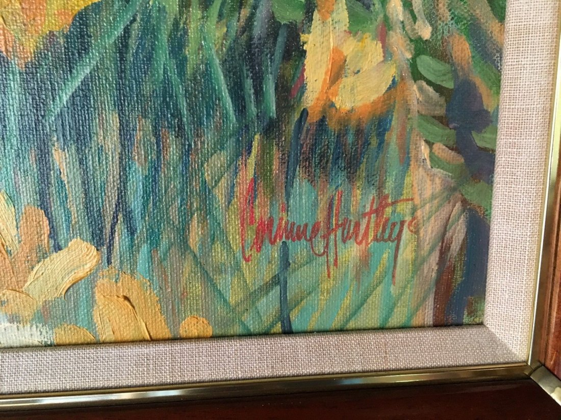 ORIGINAL PAINTING SIGNED BY CORINNE HARTLEY - 2