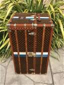 LOUIS VUITTON Antique Monogram Travel Wardrobe Steamer