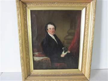 William Dunlop Oil on Canvas