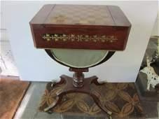 Regency-Style Game Table