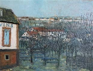 MAURICE UTRILLO (1883-1955) La Butte Pinson à Montmagny