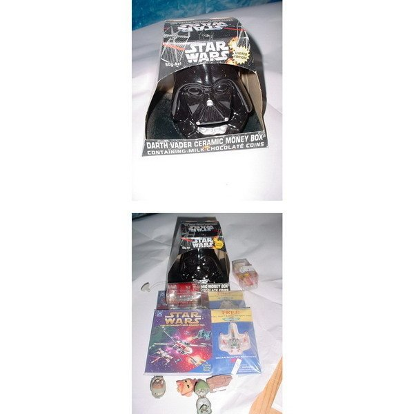2: STAR WARS NOVELTIES: DARTH VADER CERAMIC MONEY BOX W
