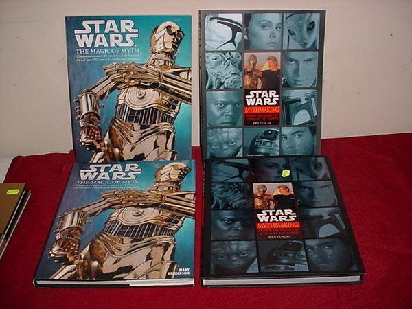 18: 4 STAR WARS REFERENCE BOOKS -  2 STAR WARS MYTHMAKI