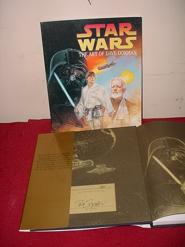 20: STAR WARS THE ART OF DAVE DORMAN - 1 HARDCOVER LTD