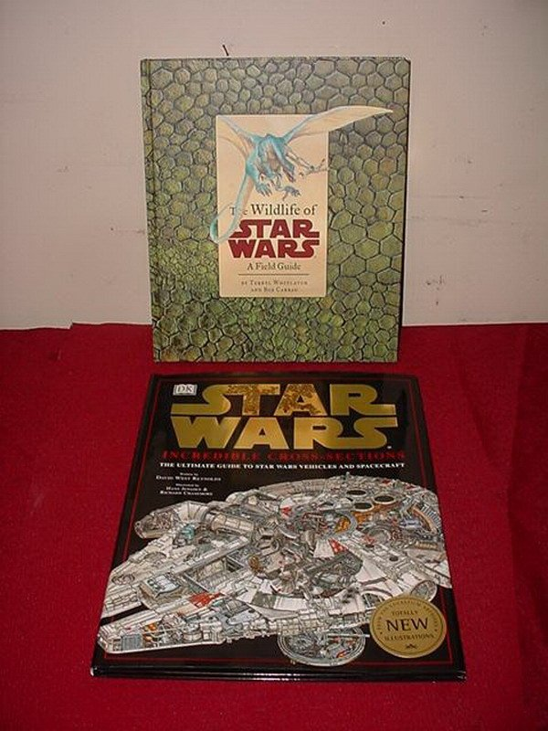 21: 2 HARDCOVER STAR WARS BOOKS - THE WILDLIFE OF STAR