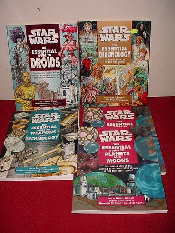 22: 5  STAR WARS 'ESSENTIAL GUIDES' REFERENCE BOOKS - I