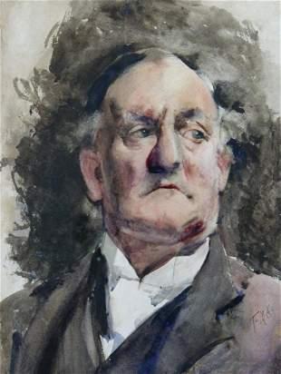 FRANCES HODGKINS - A Man of Property