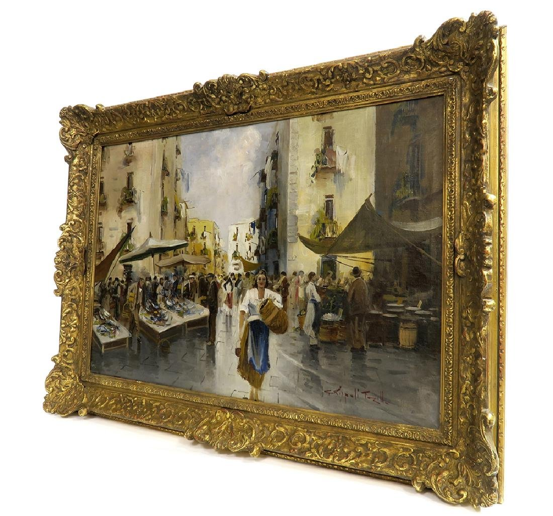 19th C. Continental Impressionist Oil on Canvas - 7