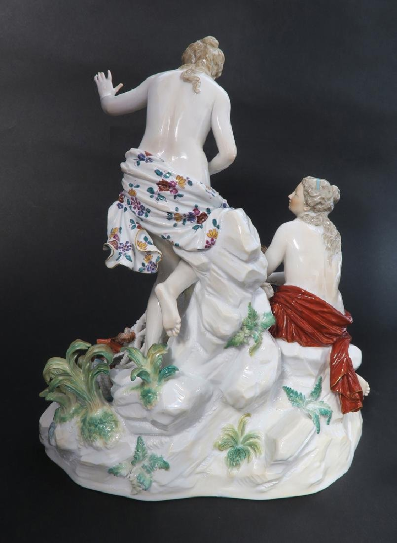 Very Large Meissen Figural Group, 19th C. - 5