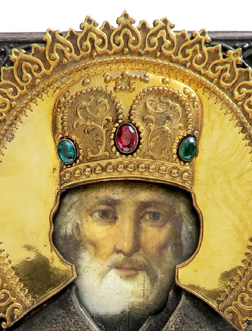 Very Fine Russian Icon, 19th C. - 2
