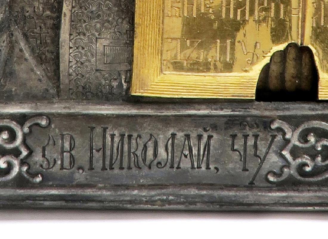 Very Fine Russian Icon, 19th C. - 4