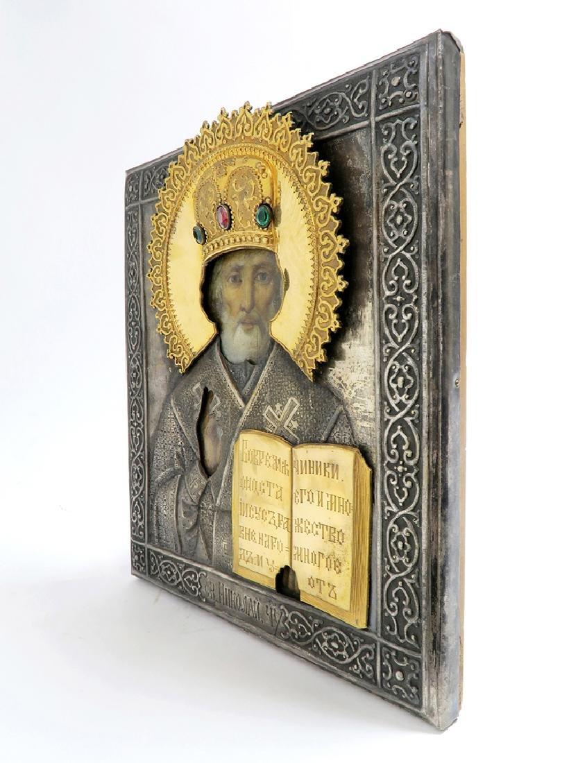 Very Fine Russian Icon, 19th C. - 5