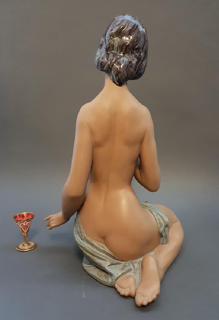 """A LLADRO Nude & Rose 18"""" Sculpture By Salvador Debon - 5"""