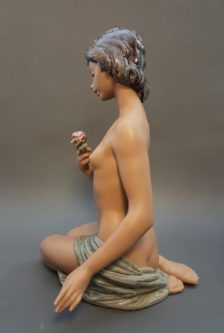 """A LLADRO Nude & Rose 18"""" Sculpture By Salvador Debon - 6"""