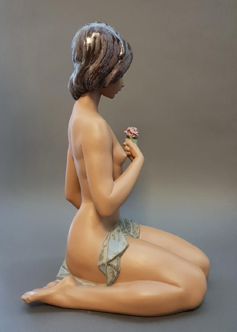 """A LLADRO Nude & Rose 18"""" Sculpture By Salvador Debon - 4"""
