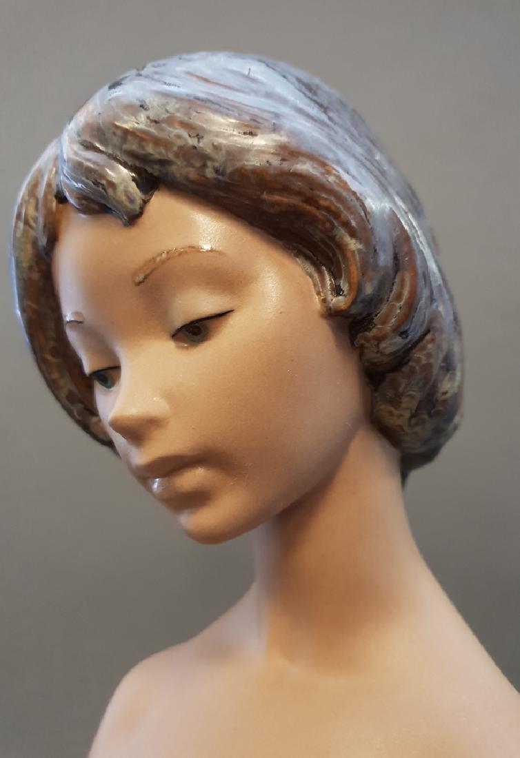 """A LLADRO Nude & Rose 18"""" Sculpture By Salvador Debon - 9"""