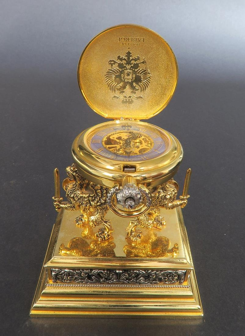 House of Faberge Pocket Watch. Signed - 5